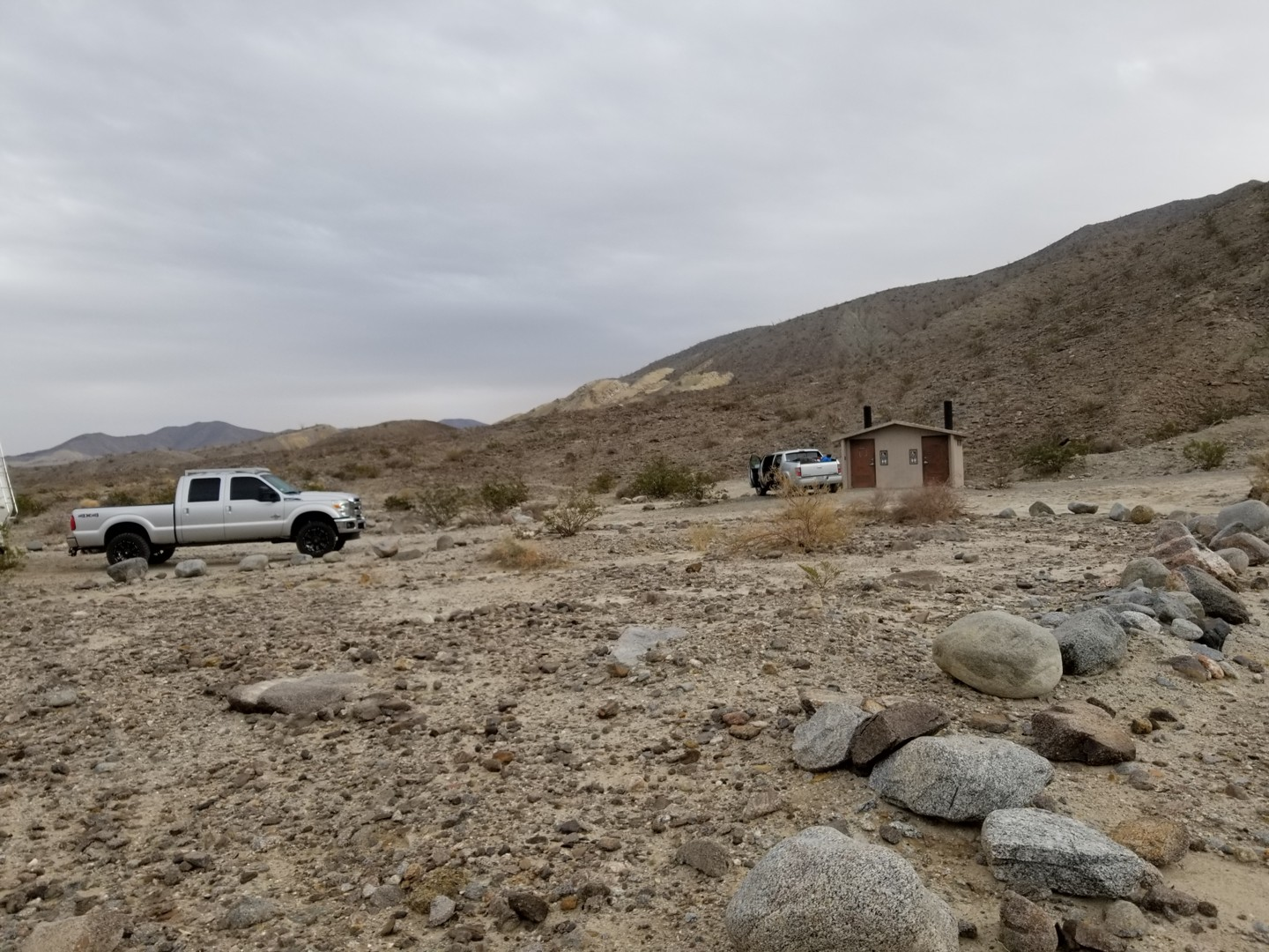Fish Creek Trail - Anza Borrego - Waypoint 2: Fish Creek Campground