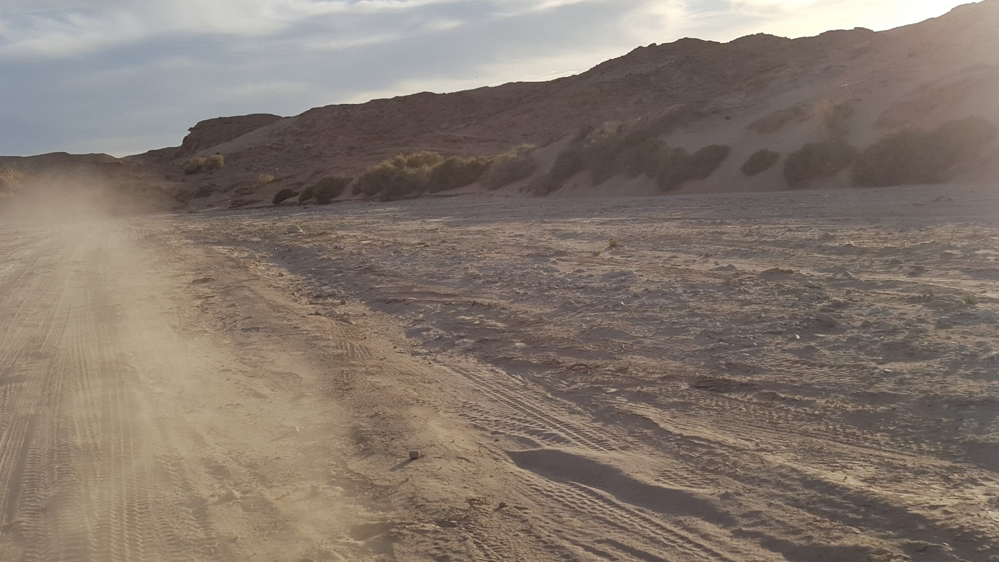 Fish Creek Trail - Anza Borrego - Waypoint 8: Loop Wash (Alt Path)
