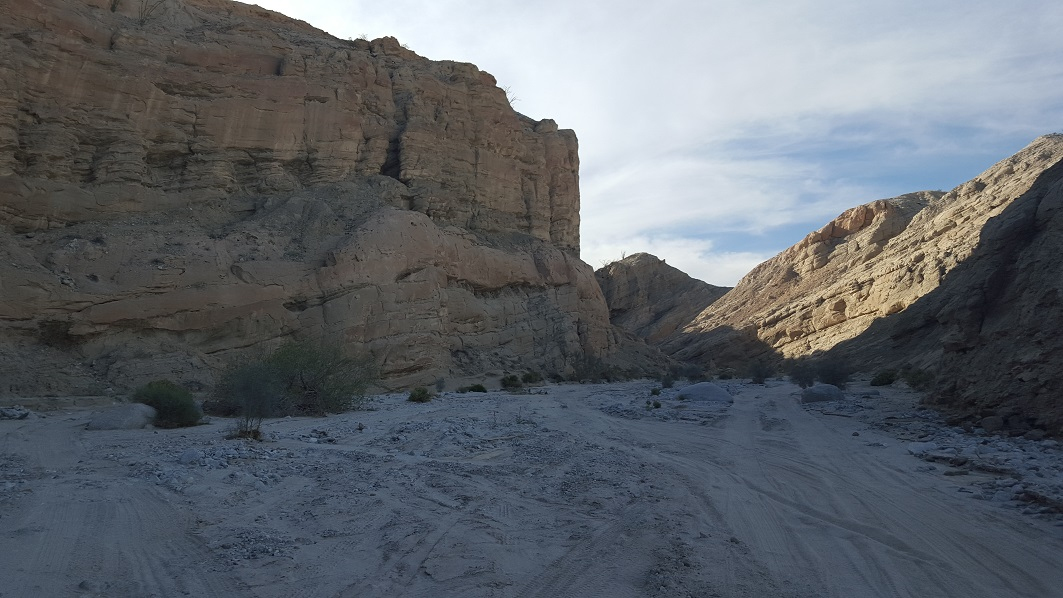 Fish Creek Trail - Anza Borrego - Waypoint 10: Sandstone Canyon