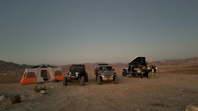Camping: Sandstone Canyon