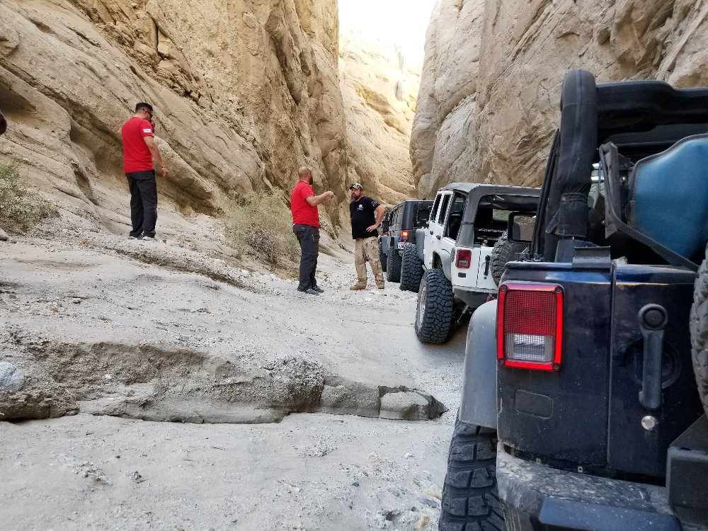 Sandstone Canyon - California Offroad Trail