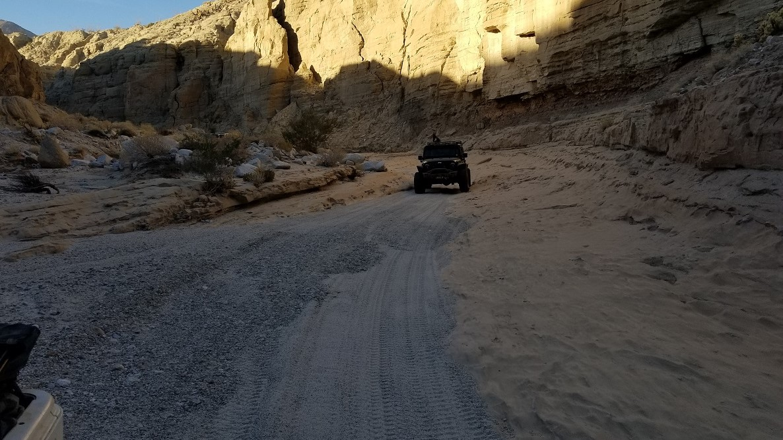 Sandstone Canyon - Waypoint 8: Old V-Notch
