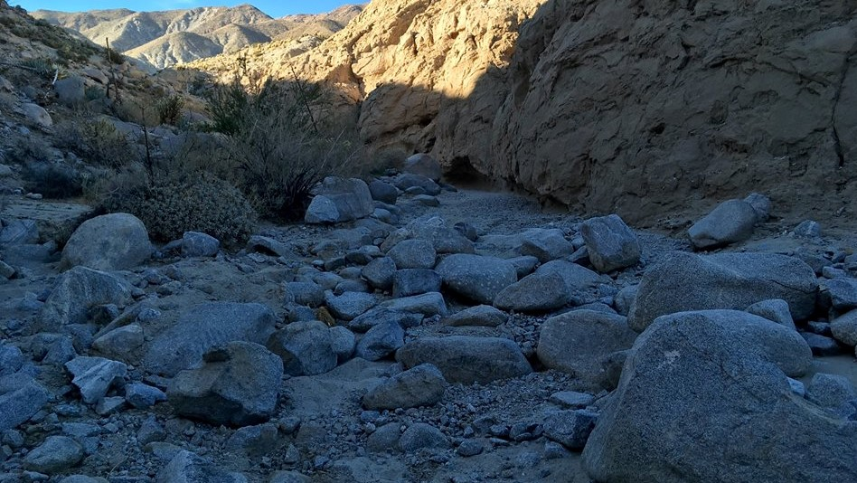 Sandstone Canyon - Waypoint 15: End of Trail (Blocked)