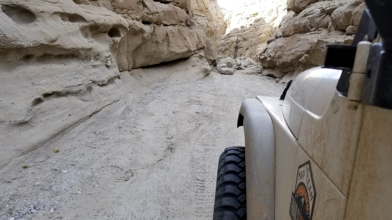 Sandstone Canyon - Waypoint 4: Rock Slide