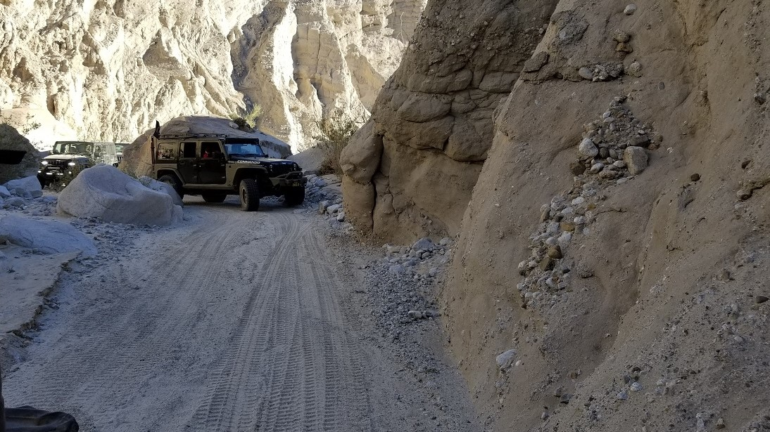 Sandstone Canyon - Waypoint 13: S-Turn Rocks