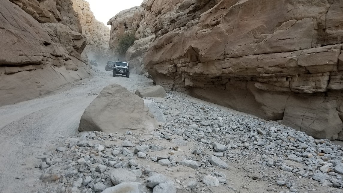 Sandstone Canyon - Waypoint 3: Old Rock Slide aka Gate Keeper (Obstacle Has Been Cleared)
