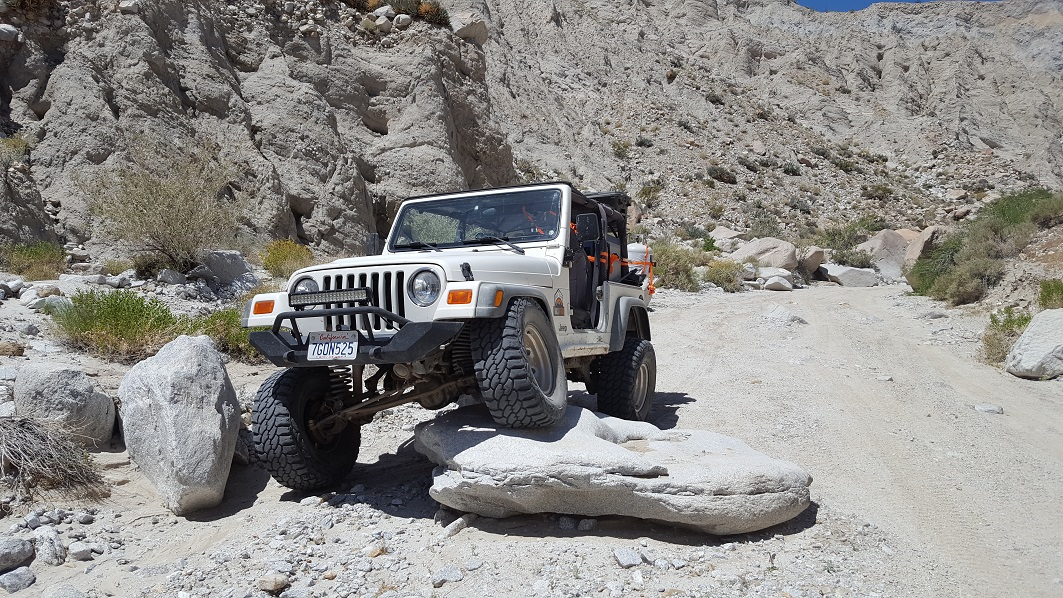Sandstone Canyon - Waypoint 12: Old End - Now Beginning of Rock Crawling