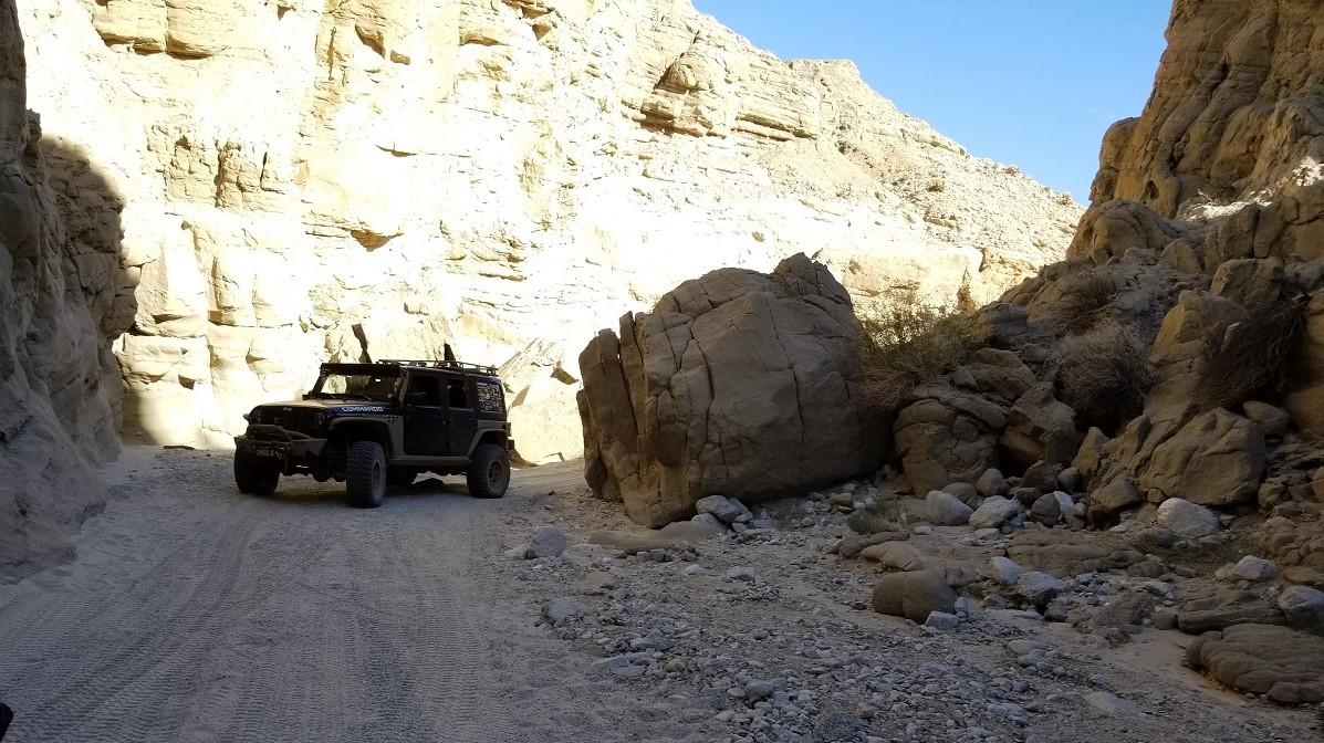 Sandstone Canyon - Waypoint 6: Rock Slide