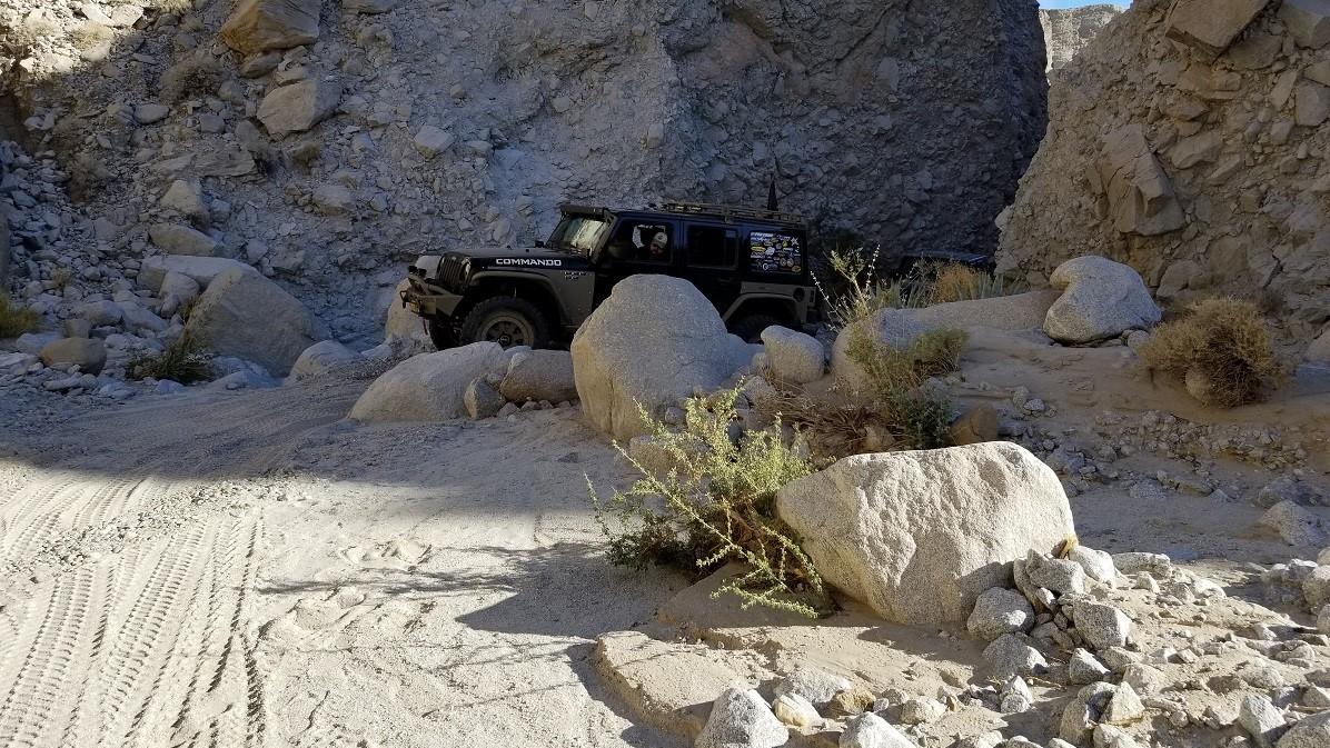 Sandstone Canyon - Waypoint 14: Rock Garden