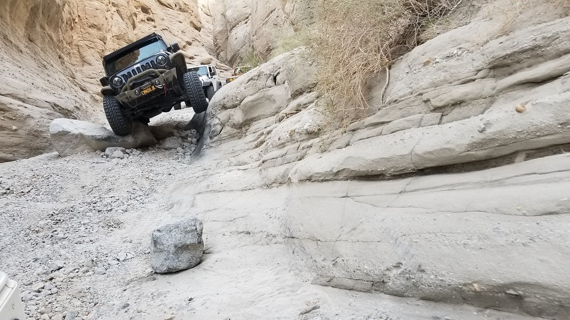 Sandstone Canyon - Waypoint 11: V-Rock Obstacle (Filled In)