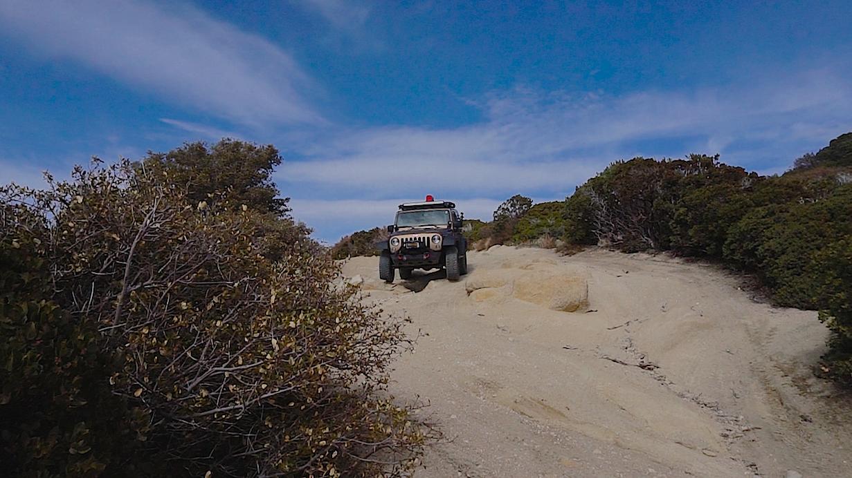 2N33 - Pilot Rock Truck Trail - Waypoint 17: Pilot Rock Turn