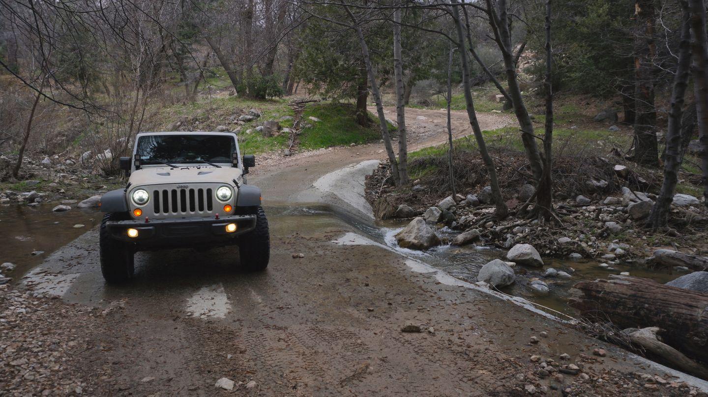 2N33 - Pilot Rock Truck Trail - Waypoint 20: Grass Valley Creek