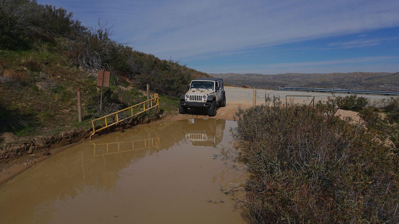 2N33 - Pilot Rock Truck Trail - Waypoint 2: Pilot Rock Trailhead