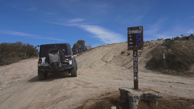 2N33 - Pilot Rock Truck Trail - Waypoint 11: 2N36 Intersection