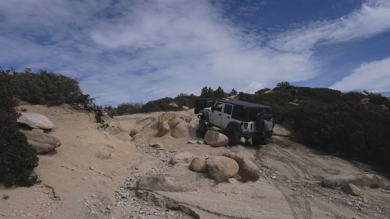 2N33 - Pilot Rock Truck Trail - Waypoint 15: Rocks / Alternate Route Intersection 7