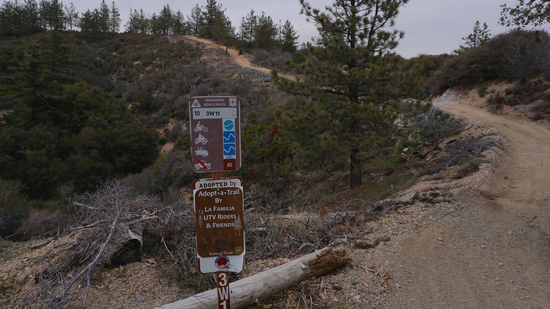 2N33 - Pilot Rock Truck Trail - Waypoint 21: 3W14 Intersection
