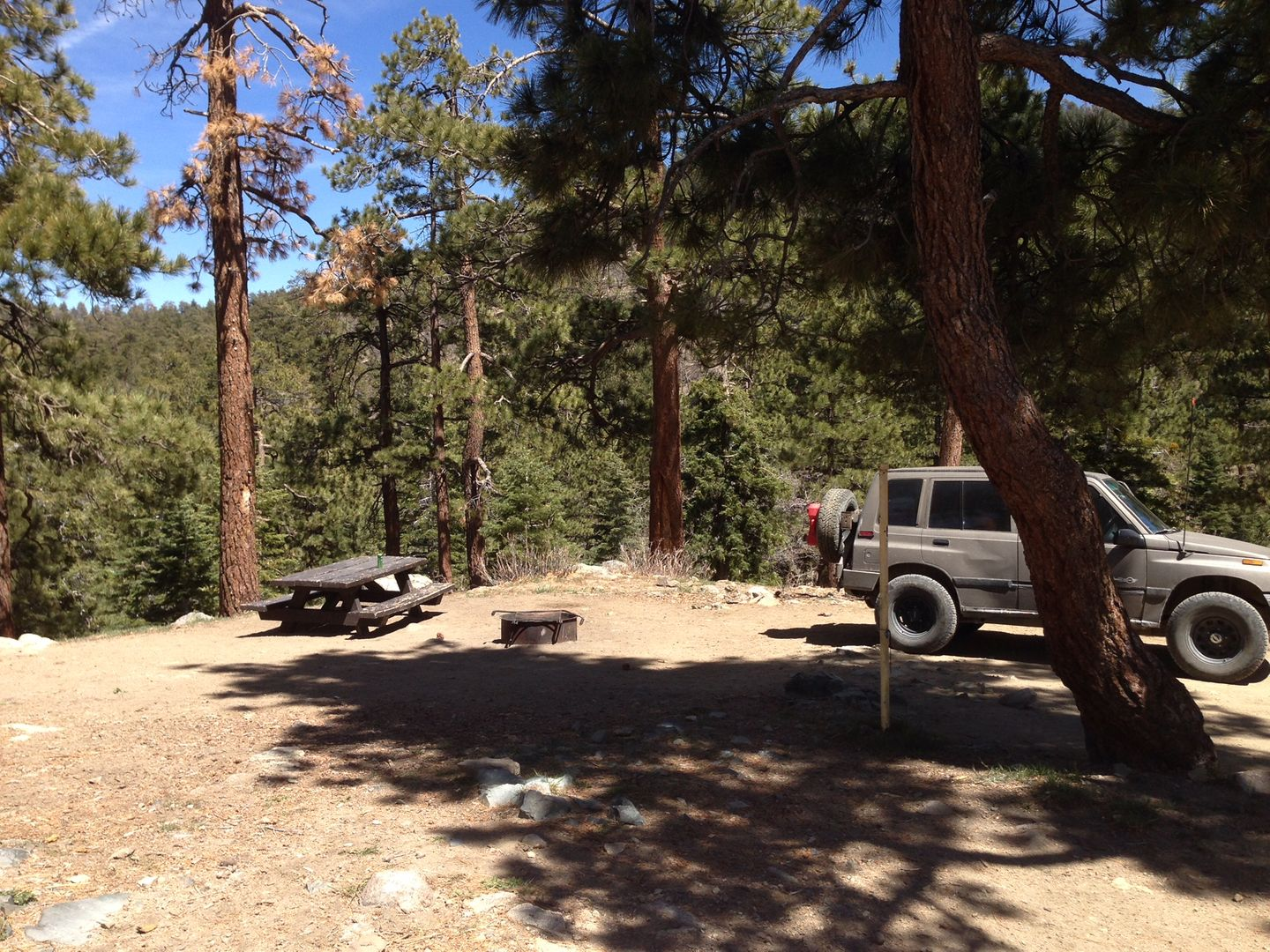 Camping: 3N34 - Willow Creek Jeep Trail