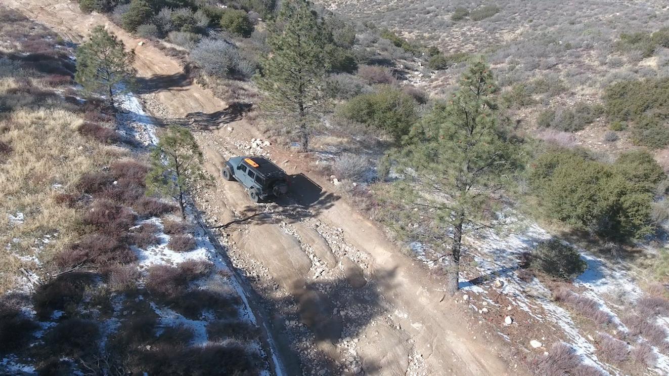 3N34 - Willow Creek Jeep Trail - Waypoint 27: 3N34X Rut Hill