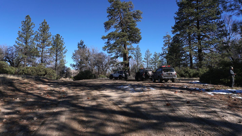3N34 - Willow Creek Jeep Trail - Waypoint 6: Big Turnout