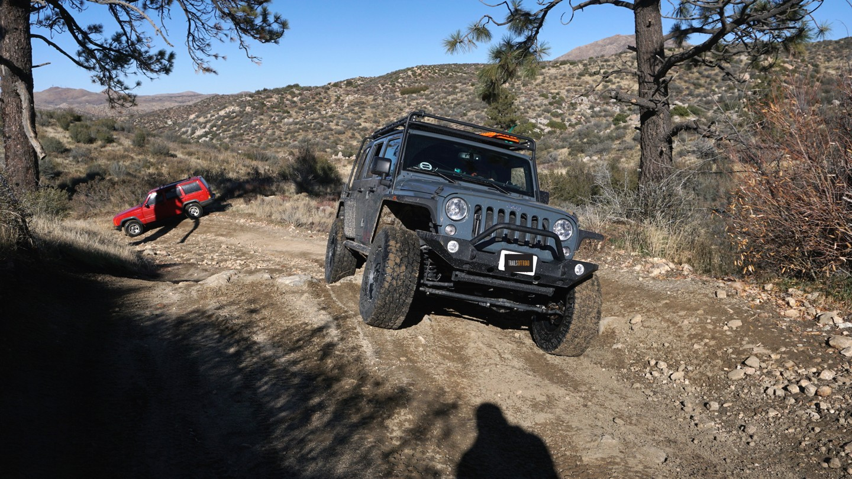 3N34 - Willow Creek Jeep Trail - Waypoint 12: Rocky Hill