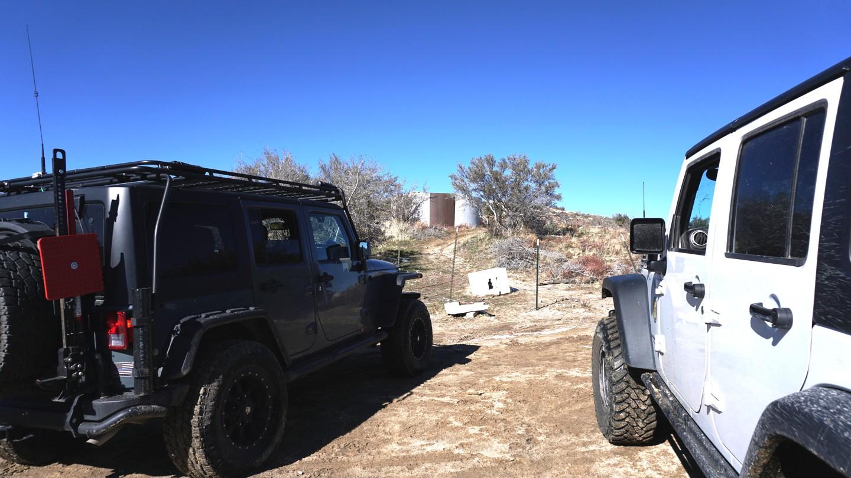 3N34 - Willow Creek Jeep Trail - Waypoint 25: 3N34X Water Tank
