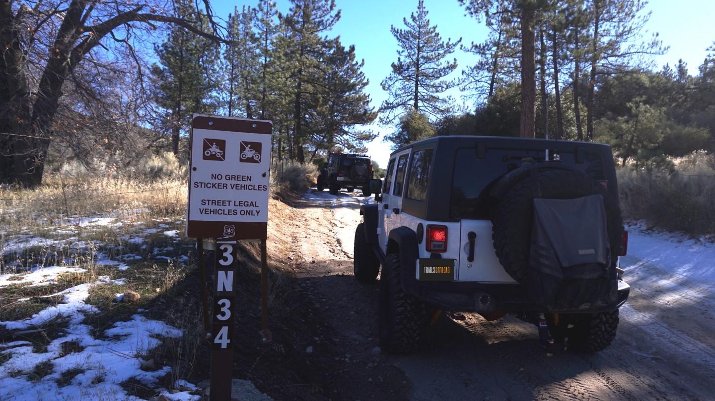 3N34 - Willow Creek Jeep Trail - Waypoint 1: Trailhead