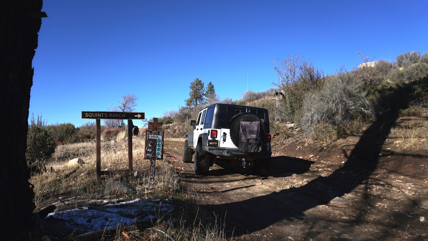 3N34 - Willow Creek Jeep Trail - Waypoint 14: 2N75 - Ash Meadows Intersection