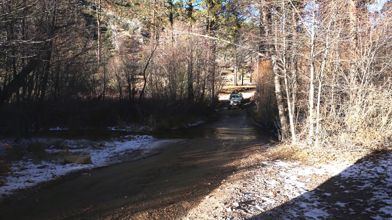 3N34 - Willow Creek Jeep Trail - Waypoint 23: Little Bear Creek Crossing