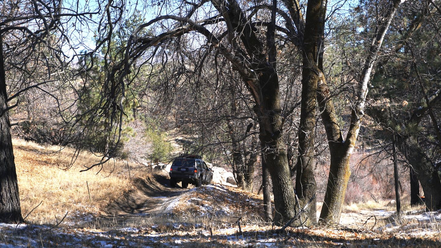3N34 - Willow Creek Jeep Trail - Waypoint 7: Left Right Option