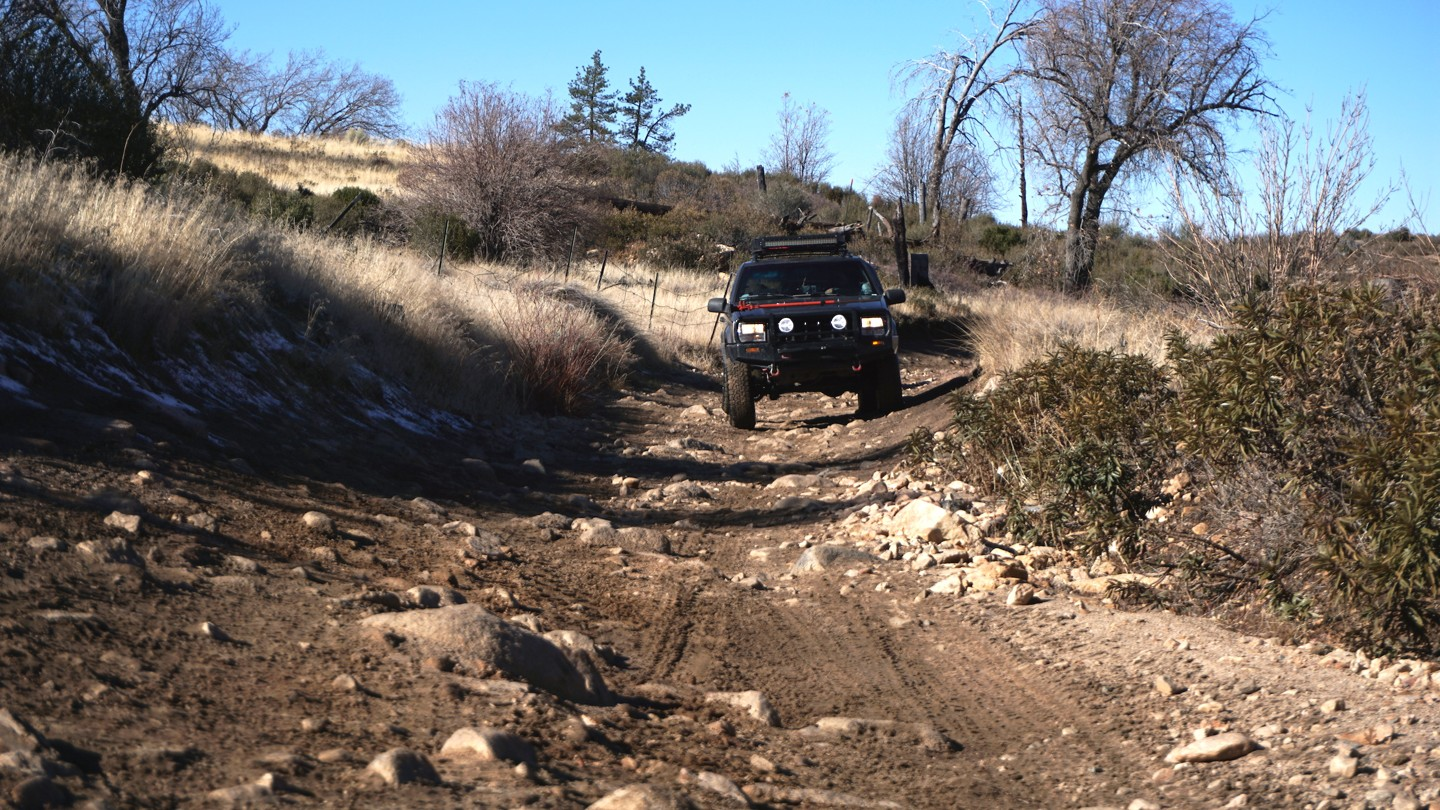 3N34 - Willow Creek Jeep Trail - Waypoint 13: Tiny Rock Garden
