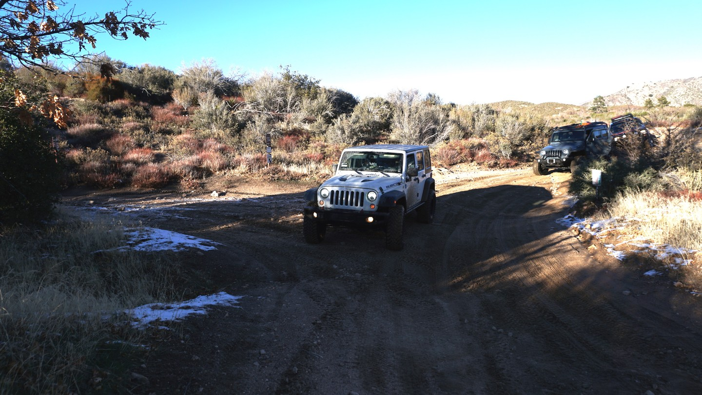 3N34 - Willow Creek Jeep Trail - Waypoint 21: 2N27Y - Rouse Meadow Intersection