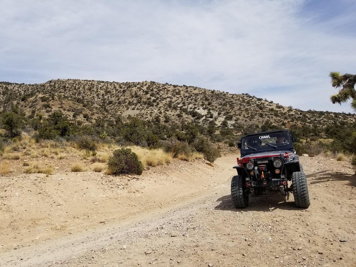 2N02 - Burns Canyon - Waypoint 2: 2N61Y - Heartbreak Ridge Trail (Stay North)