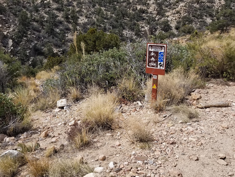 2N02 - Burns Canyon - Waypoint 2: 2N61Y - Heartbreak Ridge Trail (Stay North)