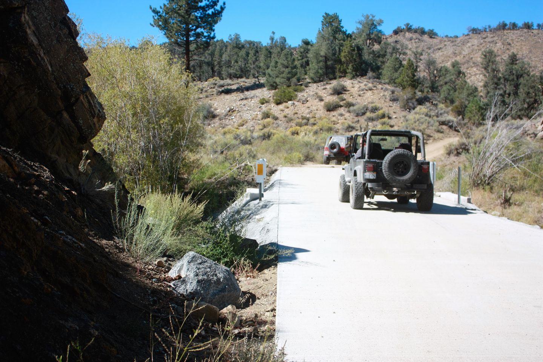 2N02 - Burns Canyon - Waypoint 9: Concrete Bridge