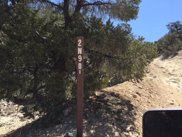 2N90 - Tip Top Mountain - Waypoint 5: Washboard Rock Garden