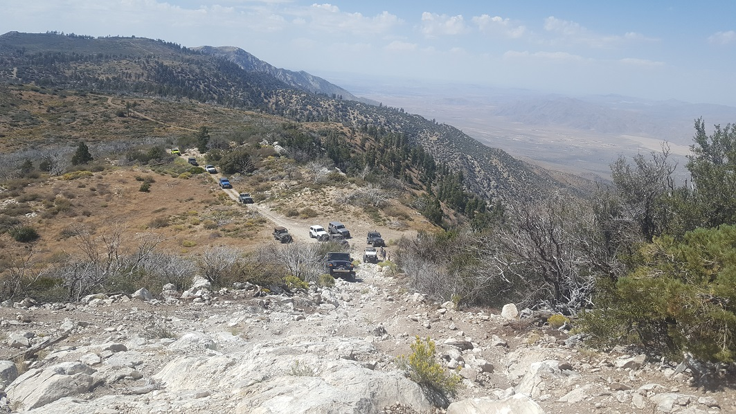 3N17 - White Mountain - Waypoint 8: Optional - Hard Loose Hill Climb (Stay Left/North For Easy Route)