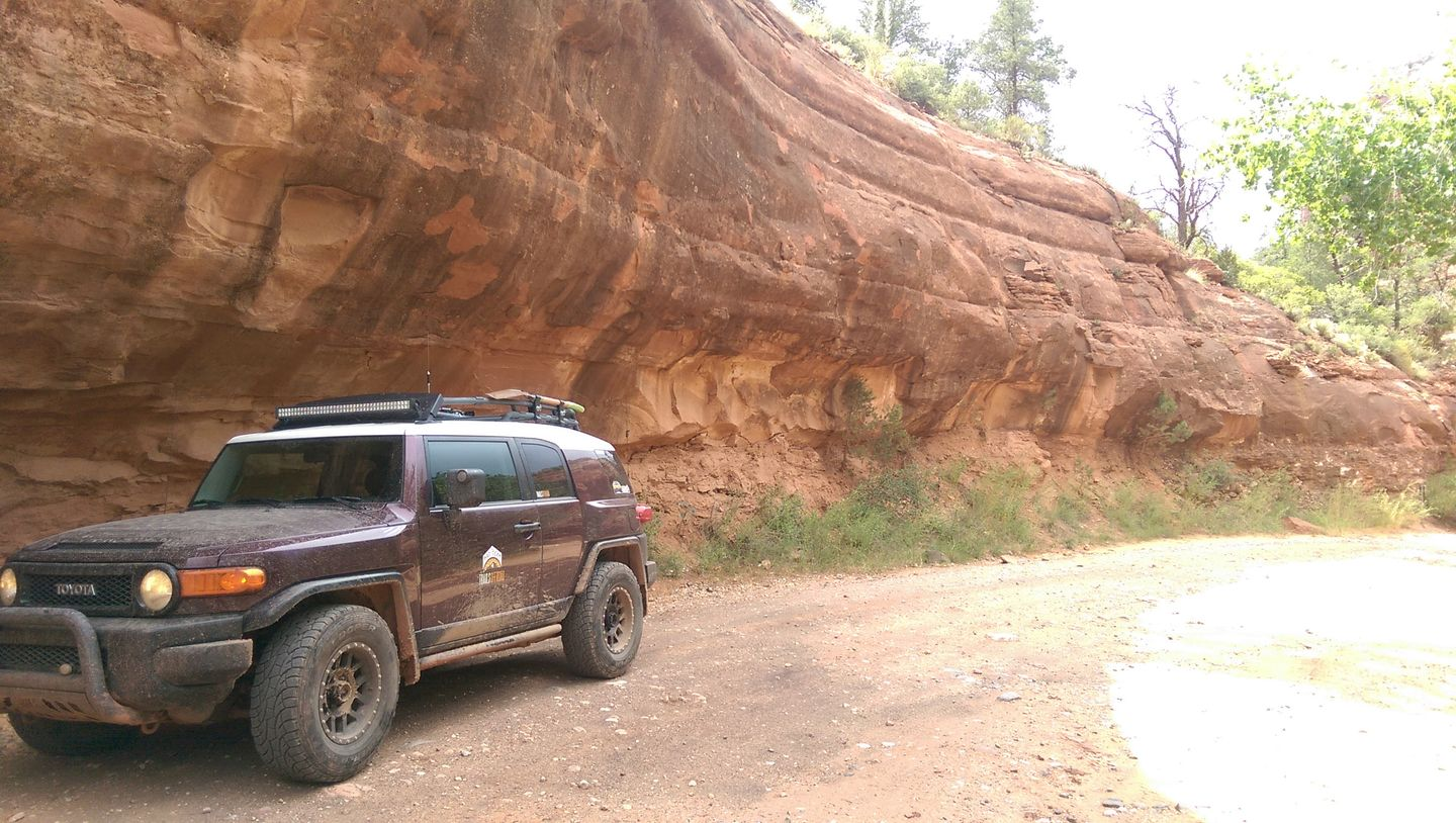 Schnebly Hill Road - Waypoint 5: Overhang