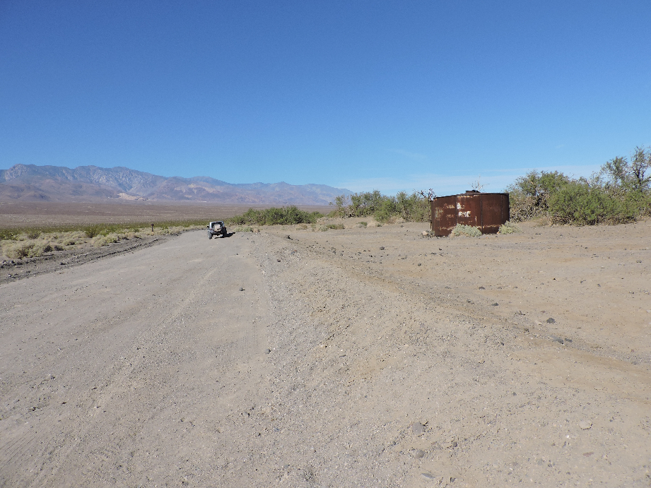West Side Road - Death Valley National Park - Waypoint 3: Queen Of Sheba Mine