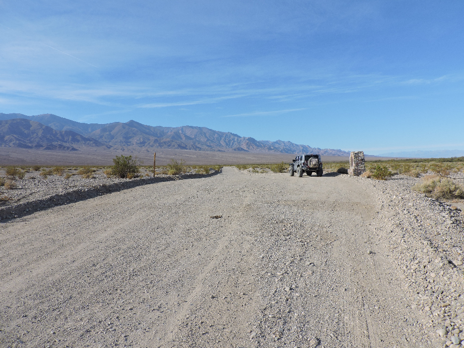 West Side Road - Death Valley National Park - Waypoint 6: Bennett's Long Camp