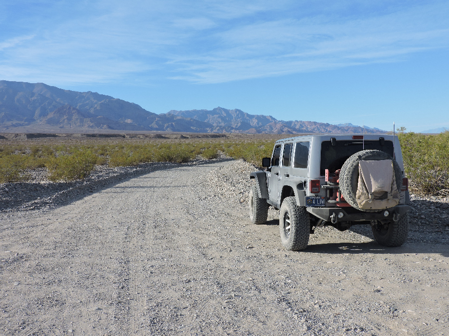 West Side Road - Death Valley National Park - Waypoint 9: Hanaupah Canyon