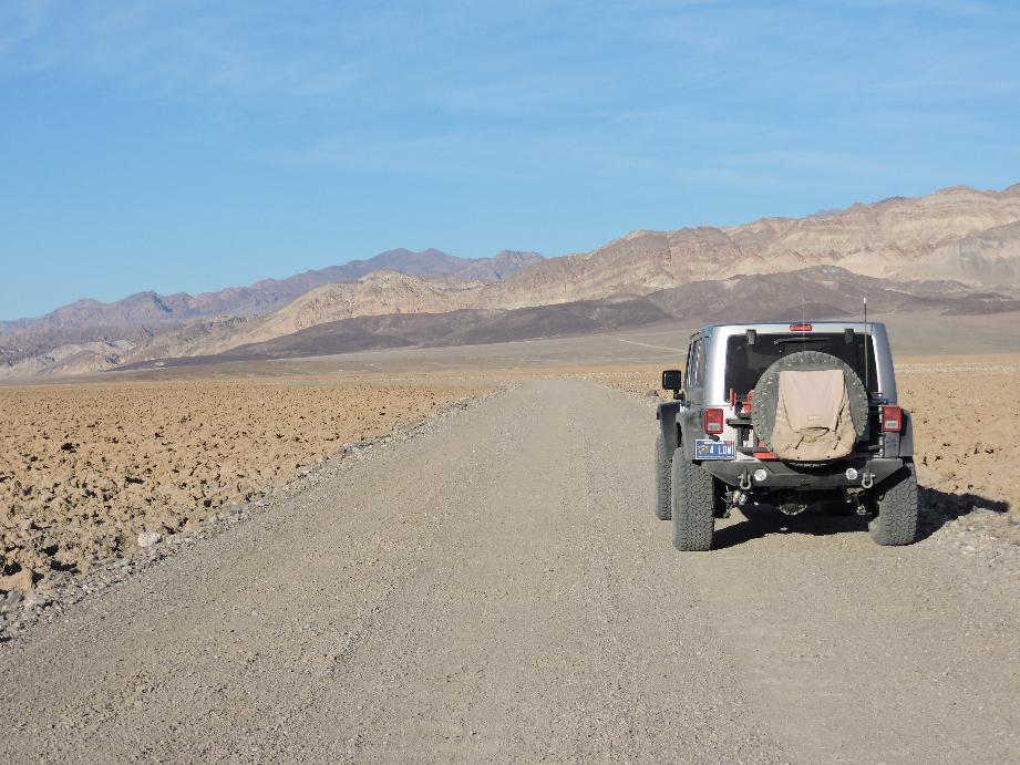 West Side Road - Death Valley National Park - Waypoint 11: Devil's Golf Course