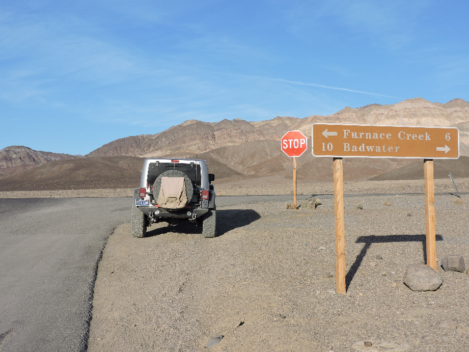 West Side Road - Death Valley National Park - Waypoint 12: End of Trail