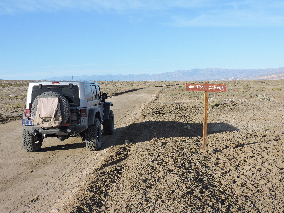 West Side Road - Death Valley National Park - Waypoint 10: Trail Canyon