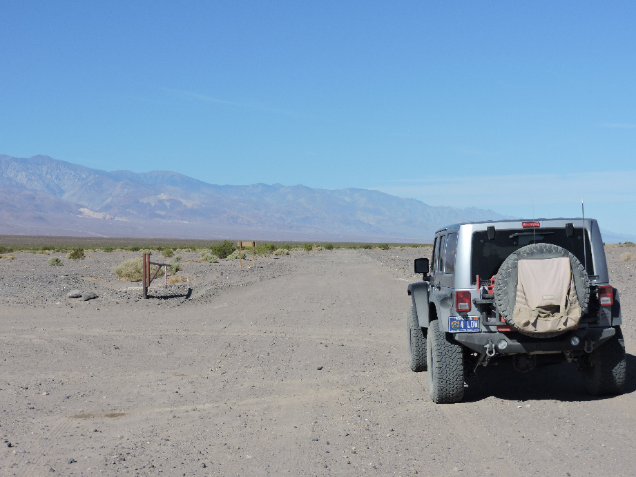 West Side Road - Death Valley National Park - Waypoint 2: Butte Valley