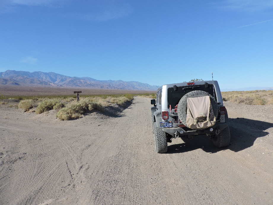 West Side Road - Death Valley National Park - Waypoint 4: Galena Canyon