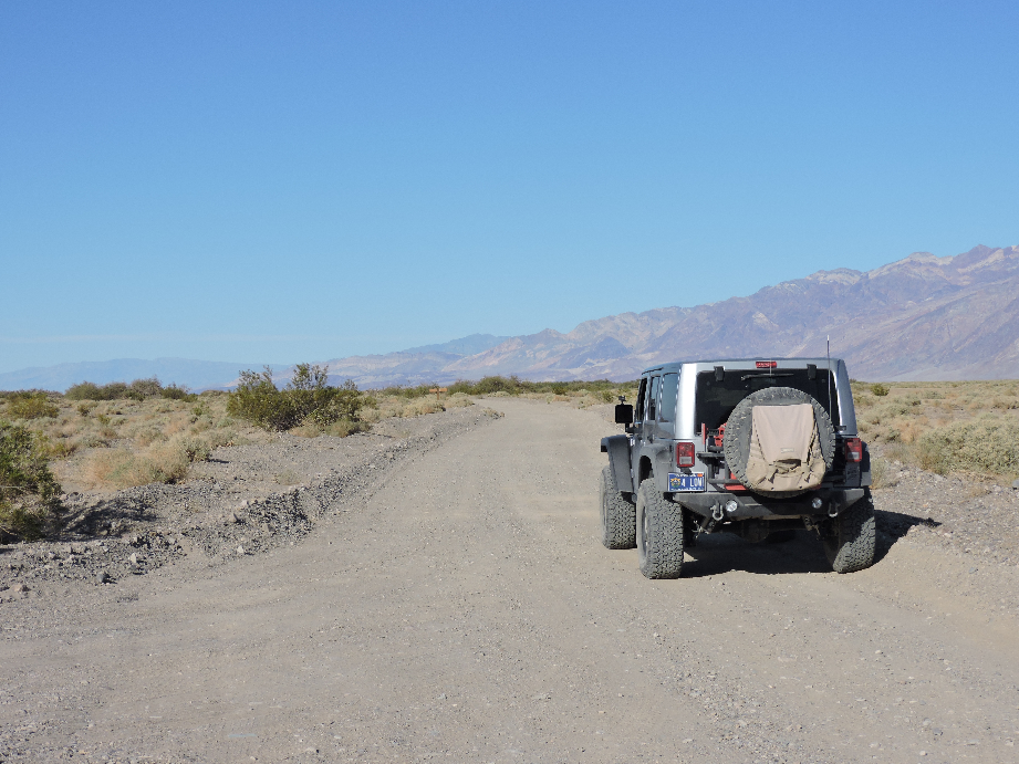 West Side Road - Death Valley National Park - Waypoint 5: Johnson Canyon
