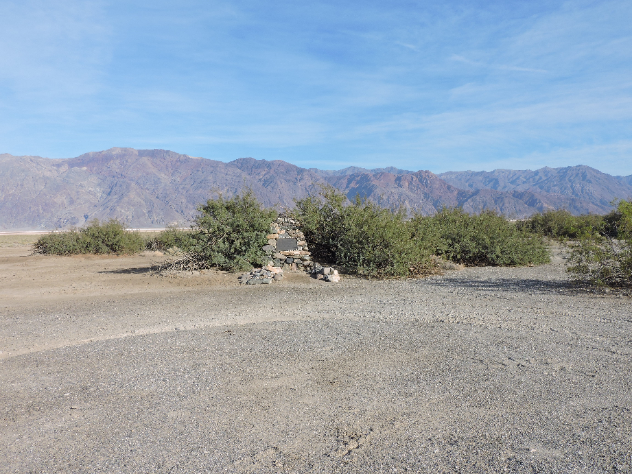 West Side Road - Death Valley National Park - Waypoint 8: Shorty's Grave