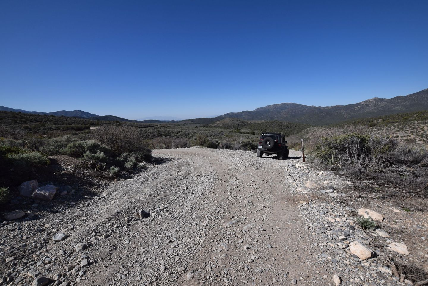Wheeler Pass - Waypoint 18: Y Intersection