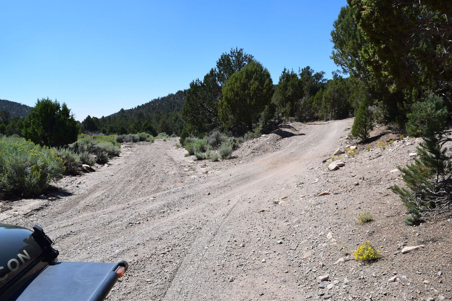 Wheeler Pass - Waypoint 21: Y Intersection