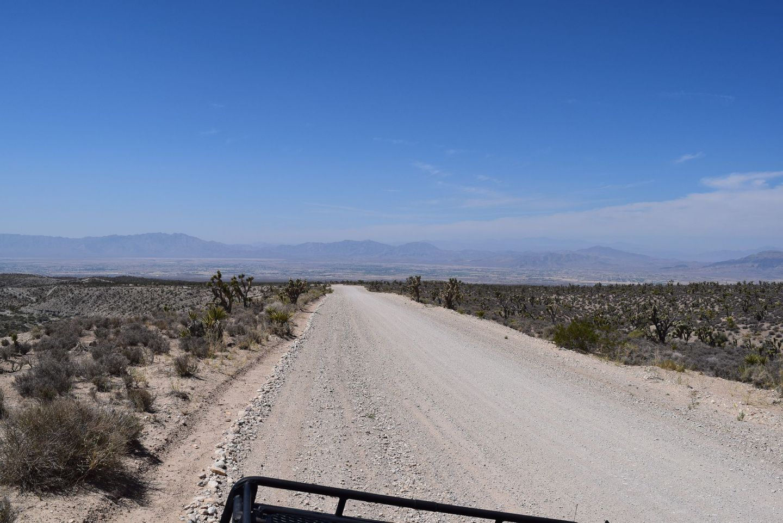 Wheeler Pass - Waypoint 24: Views of Pahrump